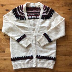 Cozy cardigan - size L
